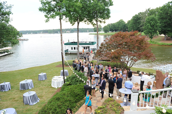 lake oconee wedding lighting