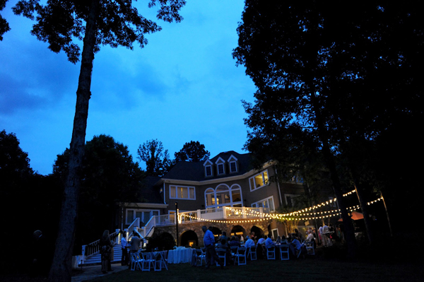 beautiful wedding at lake oconee georgia