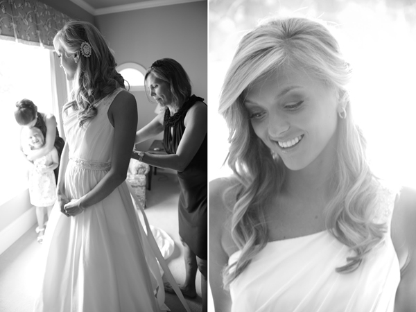 lake oconee bridal wedding