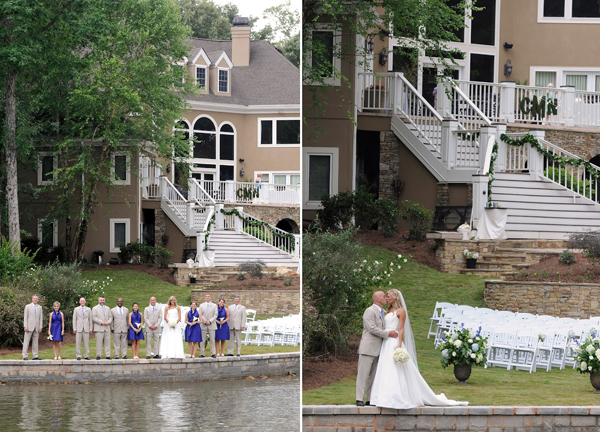 lakehouse wedding in georgia