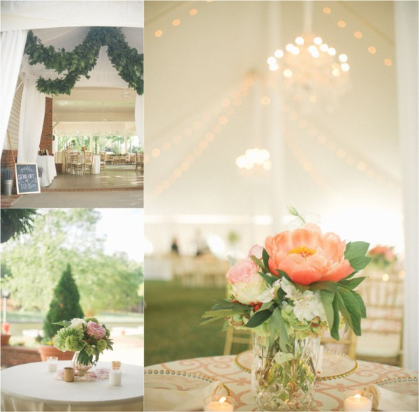 Tent Wedding at the Reynolds Plantation Pavilion