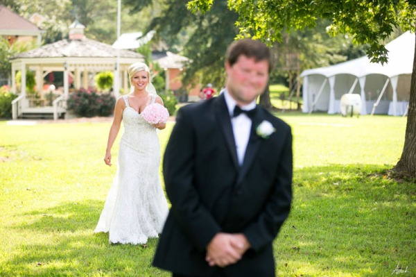 tent wedding on oconee